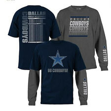 NFL 3-in-1 3 Looks in 1 Tee Shirt Combo Dallas COWBOYS ~2X