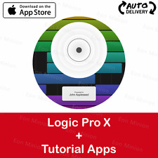 ☆Apple ID☆ Logic Pro X + Tutorial Apps ☆Auto-Delivery☆
