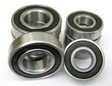 10 x 6001-2RS RUBBER SEALED BEARINGS 12x28x8mm