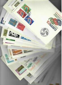 s25537a) Lotto 100 FDC vari paesi EUROPA CEPT