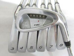 Used RH TaylorMade RAC LT Iron Set 3-9 Regular Flex Steel Shafts