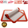 Silicone Baking Mats Sheet Oven Liner Pad Non Stick Cookie Tray Mat 2 Pack NEW