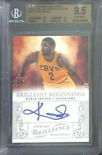 2012-13 Panini Brilliance Brilliant Beginnings Autograph 43 Kyrie Irving BGS 9.5