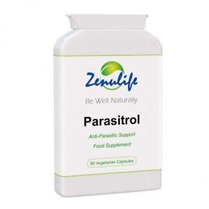 PARASITROL Colon Parasite Cleanse Capsules x 90 ELIMINATE ALL PARASITES FAST