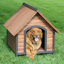 New listing Precision Pet Dog House Outback Country Lodge - Medium Lodge-M