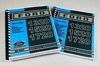 Ford 1320 1520 1720 Tractor Service Repair Shop Manual Overhaul New Holland