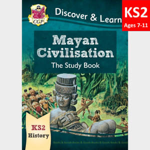 KS2 Ages 7-11 History Mayan Civilisation Study Book CGP