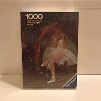 NEW Sealed Ballerina 1000 Piece Ravensburger Jigsaw Puzzle Vintage  Morceaux Pie