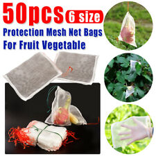 50x Mesh Net Bag Agriculture Fruit Vegetable Protection Exclusion Garden Durable