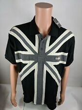 Guinness Big Flag Polo Collar Short Sleeve Shirt Size L NWT