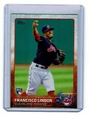 Francisco Lindor RC 2015 Topps Update #US82