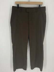 Columbia Pants Womens Size 10 Brown Hiking Outdoor Lightweight Mid Rise