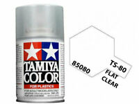 Tamiya 85080 TS-80 Matte Flat Clear Top Coat Lacquer Spray Paint 100ml - US