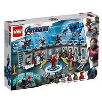 76125 LEGO Iron Man Hall of Armor Marvel Avengers Comics Super Heroes 524 Pieces