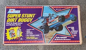 IDEAL  TEAM AMERICA  SUPER STUNT  DIRT BUGGY  BOXED  1982