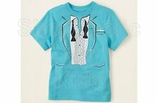 SFK Children's Place Tux Graphic Tee - Blue Sea