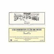 3  bottles CHAMBERTIN CLOS DE BEZE 2015 GRAND CRU DOMAINE BART