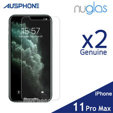 Nuglas Tempered Glass for Apple iPhone XS Max, Clear - 2 Pack