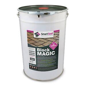 Smartseal 'BLOCK MAGIC' GREY (sample, 5 & 25 L) Colours & Seal Old Block Paving