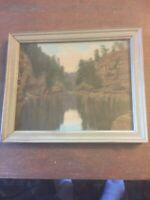 Charles Sawyer Ausable Chasm, New YorkThe Pool, Hand Colored Vintage Photo