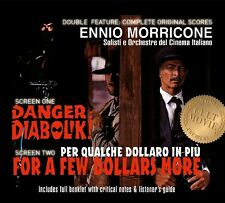 OST/DANGER DIABOLIK & FOR A FEW DOLLARS MORE 2 CD NEW+ MORRICONE,ENNIO