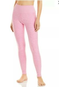 Alo Yoga Lounge Legging, Large, Heathered Pink Excellent Condition