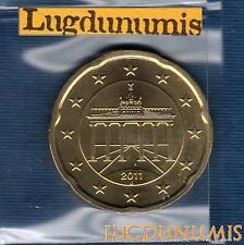 Allemagne 2011 20 Centimes J Hambourg FDC provenant coffret BU 44000 exemplaires