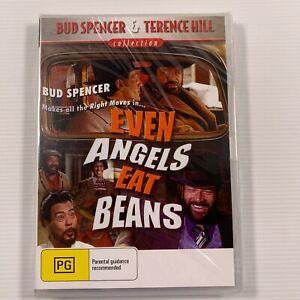 Even Angels Eat Beans DVD 1973 film Terence Hill Bud Spencer Reg all new sealed