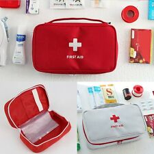 First Aid Kit Home Emergency Survival Medical Rescue Bag Treatment Case Handbag