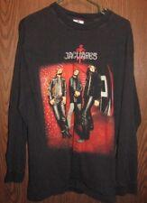Vintage Jaguares Long Sleeve Mexico Mexican Band Concert Tour T Shirt Size L