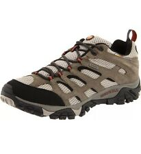 Merrell Men's Moab Waterproof Hiking Shoe Bark Brown 8.5 J88621 New No Box