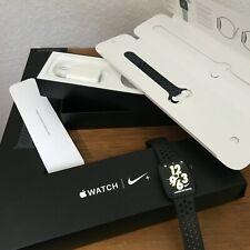 Apple Watch Nike+ Series 4 44 mm Aluminium Space Grau Grey Nike Sportarmband