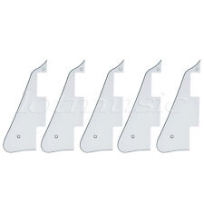 5pcs Lefty White Guitar Pickguard Scratch Plate for Guitar Parts Replacement
