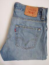 Levi's 506 Jeans Homme Standard Coupe Droite W32 L30 Bleu Clair Strauss levh 625 #