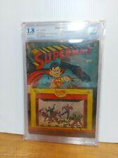 Superman #22 1943 CBCS 1.8 Not CGC Rare Golden Age DC