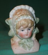 "bisque head antique for a girl 1.95"" shoulder plate"