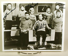 Star Trek Orignal Series Cast Autographed signed 8x10 photo w/coa Shattner