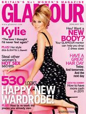 UK GLAMOUR Magazine, KYLIE MINOGUE, January 2011  (NEW)