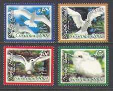 Norfolk Island 2002 Christmas/Greetings/Tern/Birds/Gulls/Nature 4v set (n21052)