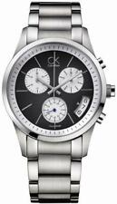 CK CALVIN KLEIN New Bold Chronograph K2247107 FREE DELIVERY WORLDWIDE