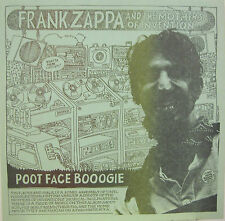 "FRANK ZAPPA & MOTHERS OF INVENTION ""POOT FACE BOOGIE""  ultrarare lp mint"
