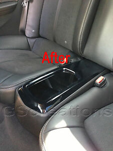 Cadillac CTS & CTS-V Coupe Rear Cup Holder Cover 2011 2012 2013 2014 2015