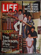 LIFE Sept 24 1971 Jackson 5 ELTON JOHN F Zappa R HAVENS