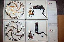 ASHIMA PCB PANCAKE MTB DISC BRAKESET Front-160mm & Rear-180mm