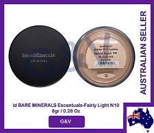 2 x id Bare Minerals Escentuals BareMinerals  Fairly Light N10 8gr/0.28 Oz.