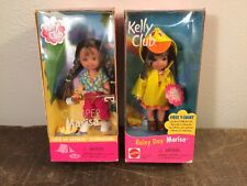 NIB BARBIE DOLL KELLY CLUB MARISA 1999 RAINY DAY & CAMPER MINT!!!