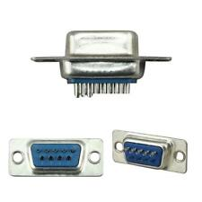 5 Pairs 9 Pin Db9 Female to Male Rs232 Serial Adapter Connectors Soldering Plug