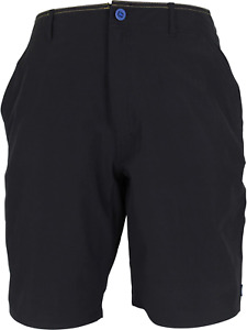 AFTCO Men's Cloudburst Fishing Shorts Black NWT Sizes 30, 32, 34