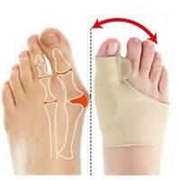 1Pair Valgus Corrector Bunion Relief Sleeves Kit Foot Toe Separator Brace Reliev