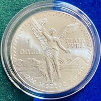 🇲🇽1982 Mexico 1 oz Silver Libertad .999 Brilliant UNC w/Original Mint Luster